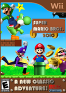 Super Mario Bros. 2010 Boxart