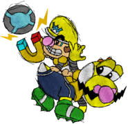 BabyWario Strikers League