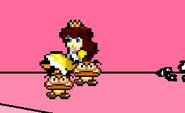 Goombas stealing daisy