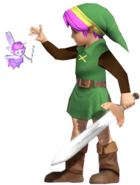 0.3.aLttP Link with a Fairy