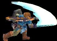 1.3.Champion Link swinging his sword