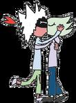 Proxxy and Phrecelieus Kissing
