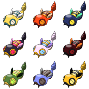 Dunsparce Recolours