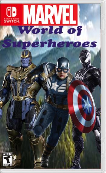 Marvel: World of Superheroes