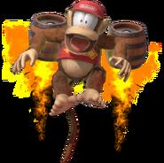 1.11.Diddy Kong taking flght