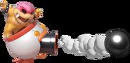 1.2.Roy Koopa shooting a Cannonball