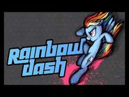 MLP- Fighting is Magic - Rainbow Dash's Theme (Super-Extended Version)