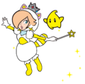 2D White Tanooki Rosalina