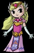 TWW Princess Zelda Artwork