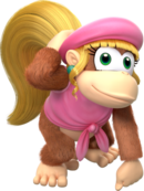 360px-Dixie Kong - Donkey Kong Country Tropical Freeze.png