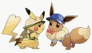 Pikachu eevee costume2