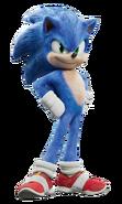 Sonic the Hedgehog film render