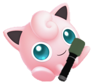 Microphone Jigglypuff in Smash Ultimate