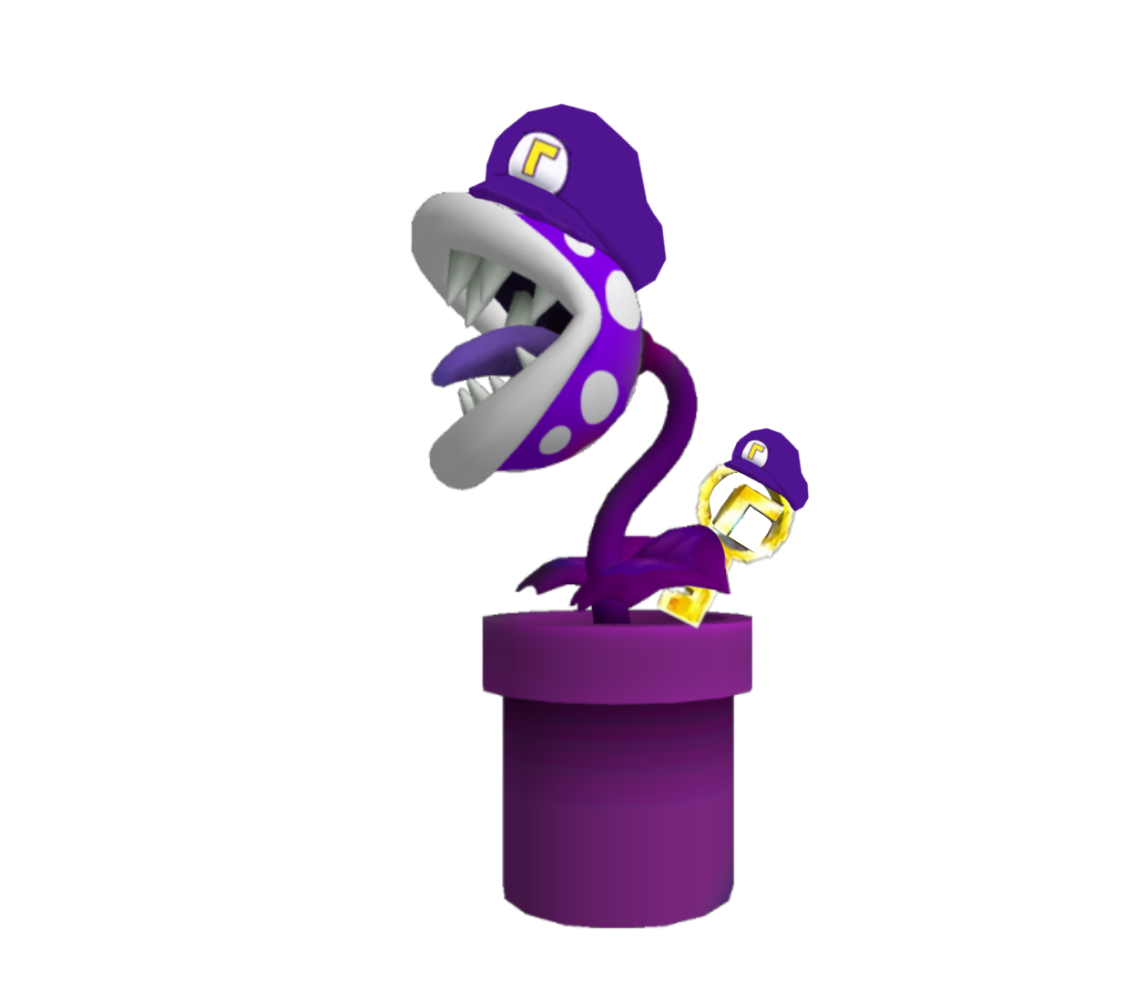 Purple Piranha (SM64DS)