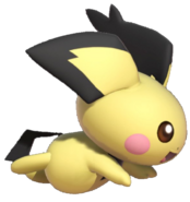 3.5.Spiky Eared Pichu running