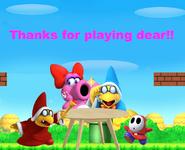 Birdo's Beautiful Quest Ending Picture