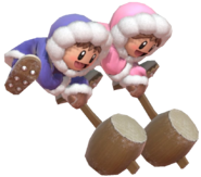 1.5.Ice Climbers Swinging their hammers