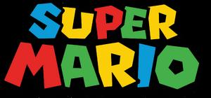 The Super Mario series logo.