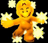 Sparkly Golden Mario