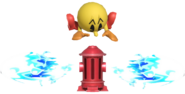 0.8.Pac-Man's Fire Hydrant shooting water 2