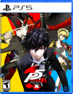 Persona 5 Arena PS5 Cover