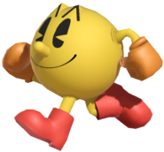 0.7.Pac-Man walking