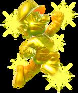 8.Golden Mario jumping