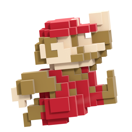 8-Bit Mario (Super Smash Bros. Slam)