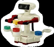 Brawl Sticker Robot & Blocks (Stack-Up)