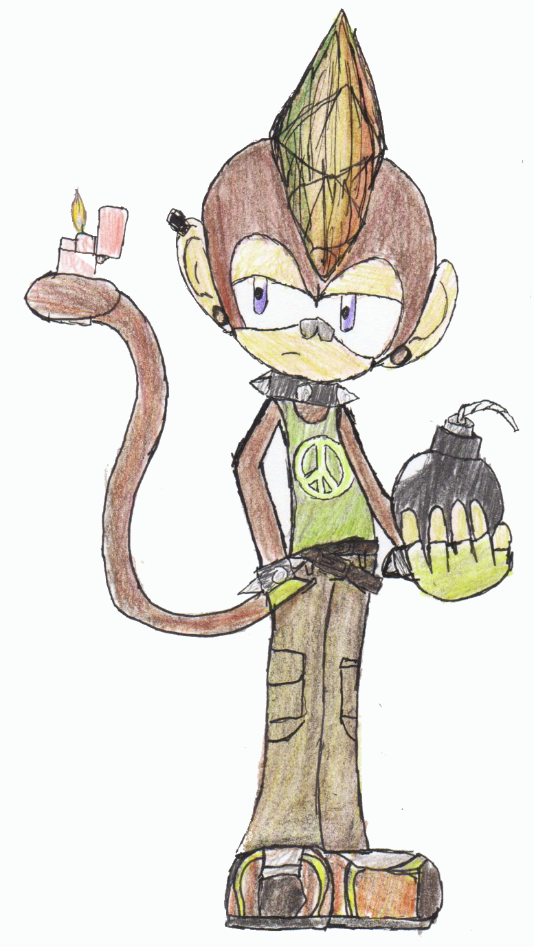 Heath Iliad the Monkey