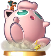 Jigglypuff used Puff-Up