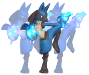 1.10.Lucario using Double theme