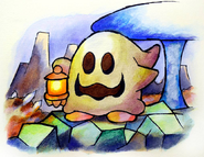 Lantern ghost art