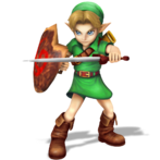 Young link smash bros style render by nibroc rock-d9703zs
