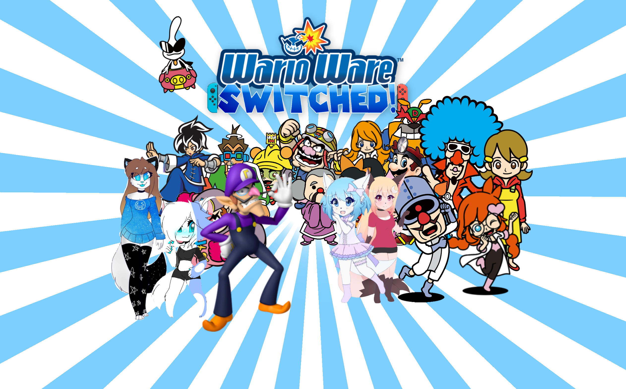 WarioWare Switched