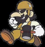Foreman Spike (Mario Character Encyclopedia)
