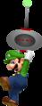 Luigi Rides Robud