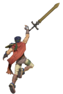 1.9.Radiant Dawn Ike Throwing his Sword