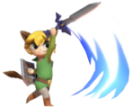 0.3.Monster Toon Link Swinging his Sword