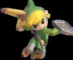 1.6.Toon Link preparing to throw his Boomerang