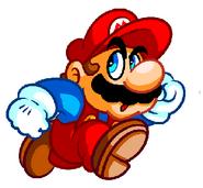 Classic Mario scopica