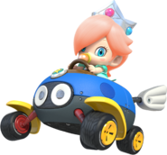 ACL-Red haired Baby Rosalina shadowless