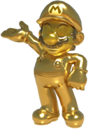 MKT Gold Mario render