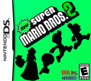New Super Mario Bros 2 Boxart