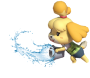 0.5.Isabelle swinging a bucket