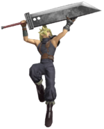 0.14.Cloud Thrusting his Blade Upwards
