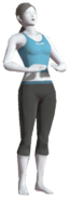 0.23.Female Wii Fit Trainer taking a Deep Breath