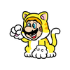 SM3DW BF CatMarioStamp