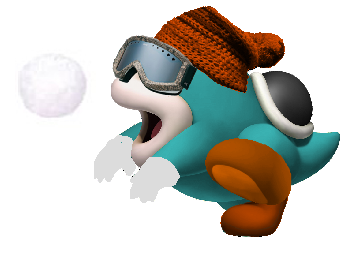 YoshiEgg Nook & Purple Koopa Bro. at the Olympic Winter Games