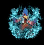 2.7.Falco preparing to use Fire Bird